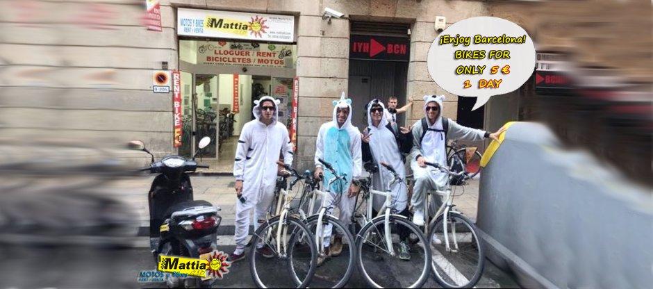 affitto bici barcelona
