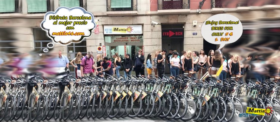 bike rent barcelona